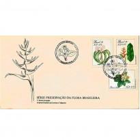 FDC469 - Série Preservação da Flora Brasileira - 1989
