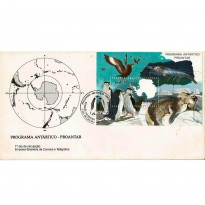 FDC493 - Programa Antártico - PROANTAR - Fauna Antártica - 1990