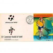 FDC501 - XIV Campeonato Mundial de Futebol - 1990