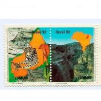 STC1811 - Parque Nacional da Serra da Capivara, Patrimônio Cultural da Humanidade - 1992