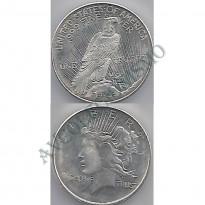MOY009 - Onça Troy - Representação Moeda Americana - Liberty - USA
