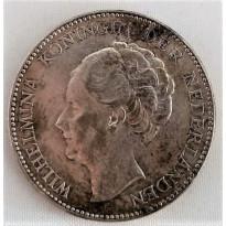 Moeda Holanda - KM161.1 - 1 Gulden - 1930