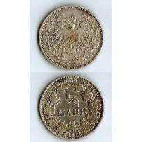 MES - ALE - Km017 - 1/2 Mark - Alemanha - 1906D