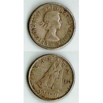 MES - CAN - Km051 - 10 Cents - Canadá - 1957