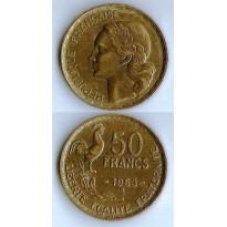 MES - FRA - Km0918.2 - 50 Francs - França - 1953B