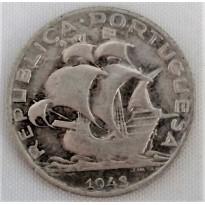 Moeda Portugal - Km580 - 2e1/2 Escudos - 1943