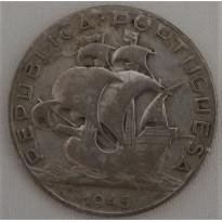 Moeda Portugal - Km580 - 2e1/2 Escudos - 1945