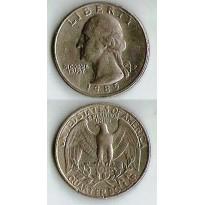 Moeda Estados Unidos da América - Km164a - Quarter Dólar - 1985P