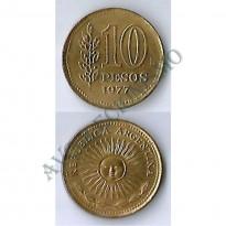 MES - ARG072 - 10 Pesos - Argentina - 1977