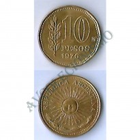 MES - ARG072 - 10 Pesos - Argentina - 1976