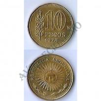 MES - ARG072 - 10 Pesos - Argentina - 1978