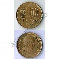MES - ARG074 - 10 Pesos - Argentina - 1977