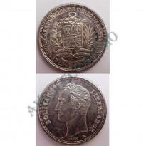 MES - VNZ - KmA37 - 2 Bolívares - Venezuela - 1960