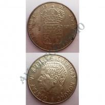 MES - SUE - KM826 - 1 Krona - Suécia - 1957
