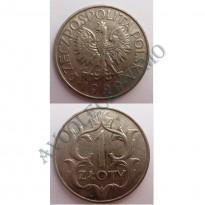 MES - POL - Km014 - 1 Zloty - Polônia - 1929