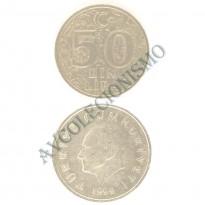 MES - TUR - Km1056 - 50 Bin Lira - Turquia - 1999
