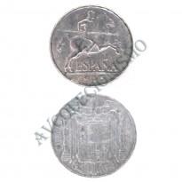MES - ESP - KM0765 - 5 Centésimos - Espanha - 1945
