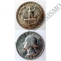 MES - USA - Km164a - Quarter Dólar - Estados Unidos da América - 1988D