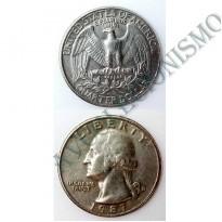 MES - USA - Km164a - Quarter Dólar - Estados Unidos da América - 1987D