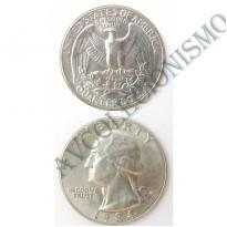 MES - USA - Km164a - Quarter Dólar - Estados Unidos da América - 1984D