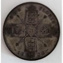 Moeda Inglaterra - Km0817a - 1 Florin - (2 Shilling) - Prata - 1923