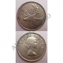 MES - CAN - Km052 - 25 Centavos - Canada - 1964 - Prata