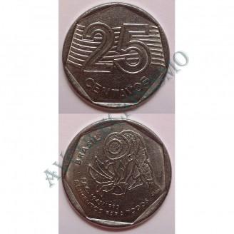 MRS 456 - Moeda 25 Centavos - 1995 - FAO - SO
