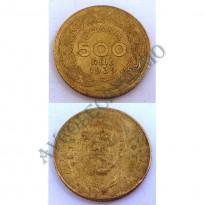 MVM 175 - Moeda 500 Réis - Bronze-Alumínio - 1939 - SOB
