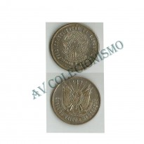 Medalha - Brasil - 1893 - Civismo - Valor e Abnegacao