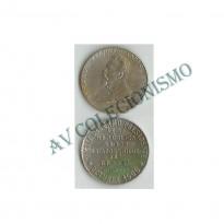 Medalha - Brasil - 1900 - Campos Salles