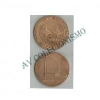 Medalha - Brasil - 1978 - ECT - Inauguração Do Edifico Sede Em Brasilia