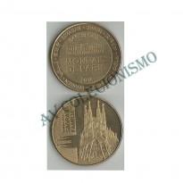 Medalha - Espanha - 2014 - Basílica da Sagrada Família - Barcelona