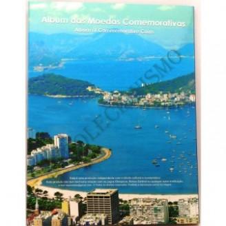 Álbum para as  Moedas Comemorativas das Olimpíadas do Rio - 2012-2016
