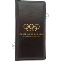 Álbum para as moedas comemorativas das olimpíadas - Rio 2016