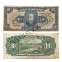 R110 C  - 10 Mil Reis - 1936 - SOB