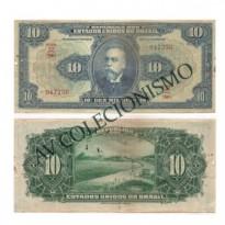 R110 D  - 10 Mil Reis - 1942 - MBC/SOB