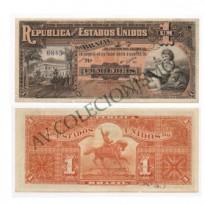 R076 - 1 Mil Reis - 1918 - SOB
