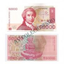 Cédula - Croacia -1993 - 50000 Tisuca - FE