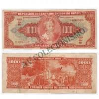 C104 - 1000 Cruzeiros - 1949 - MBC - RARA