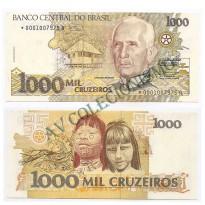 C217a - 1000 Cruzeiros - 1990 - Reposição -  FE - S0002