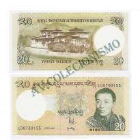 Cédula - Bhutan - Km030 - 20 Ngultrum - 2006 - FE