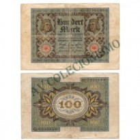 Cédula - Alemanha - Km069 - 100 Mark -1920 - MBC