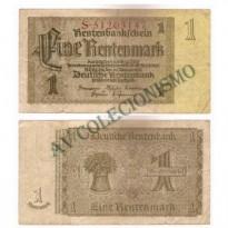 Cédula - Alemanha - Km173 - 1 Rentenmark -1937 - MBC