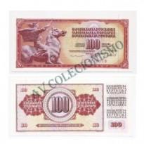 Cédula - Yugoslavia - Km090b - 100 Dinara - 1981 - FE