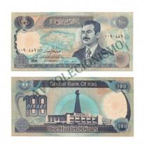 Cédula - Iraque - Km084 - 100 Dinars - 1994 - FE