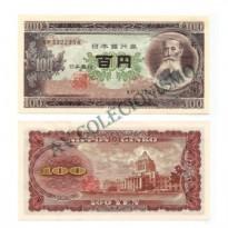 Cédula - Japão - Km090b - 100 Yen -1953 - FE