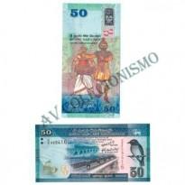 Cédula - Sri Lanka - #124 - 50  Rupees - 2010 - FE