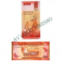 Cédula - Sri Lanka - #125 - 100  Rupees - 2010 - FE