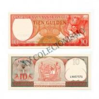 Cédula - Suriname - Km121 - 10  Gulden - 1963 - FE