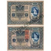 Cédula - Áustria - Km059 - 1000 Kronen -1919 - SOB